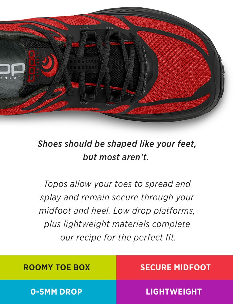 Topo Athletic Fit
