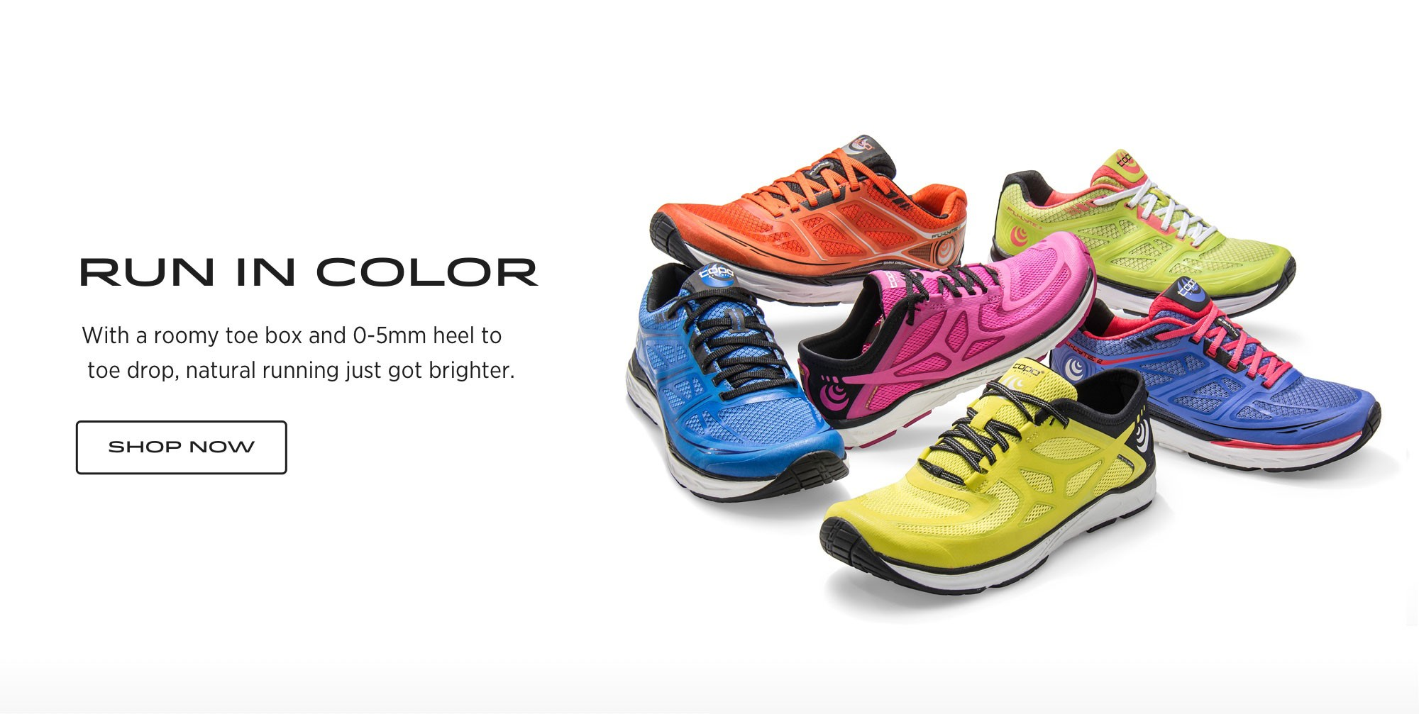 Topo Athletic Run In Color